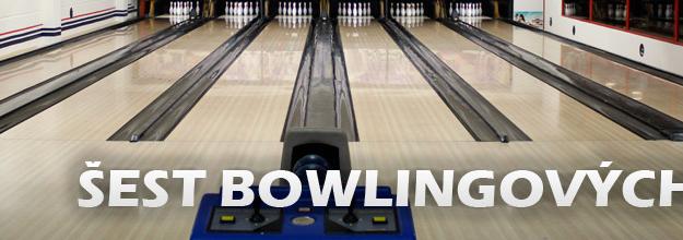 Šest bowlingových drah